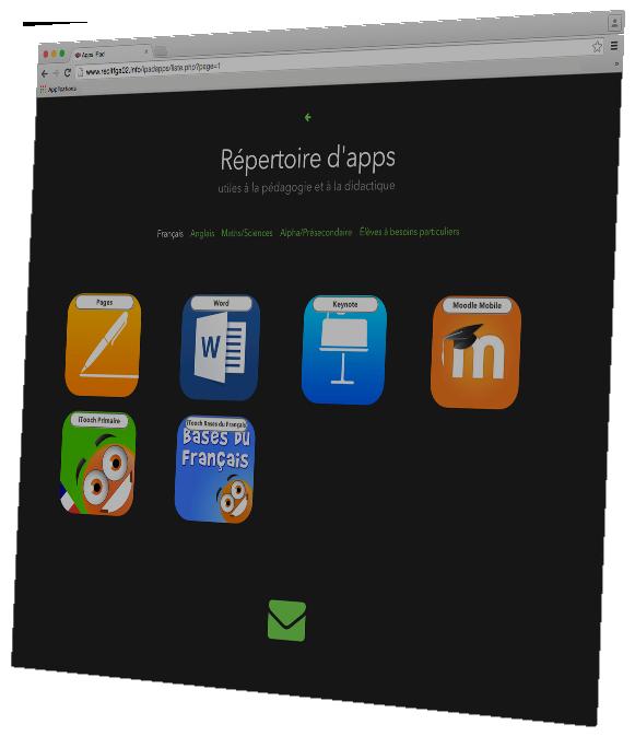 Liste d'apps pour iPad